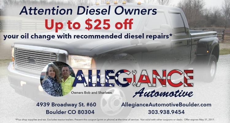 Diesel Deal May 2017