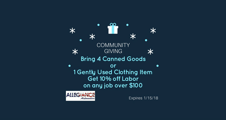 Food & Clothing Drive 2017