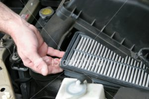 New car air filter
