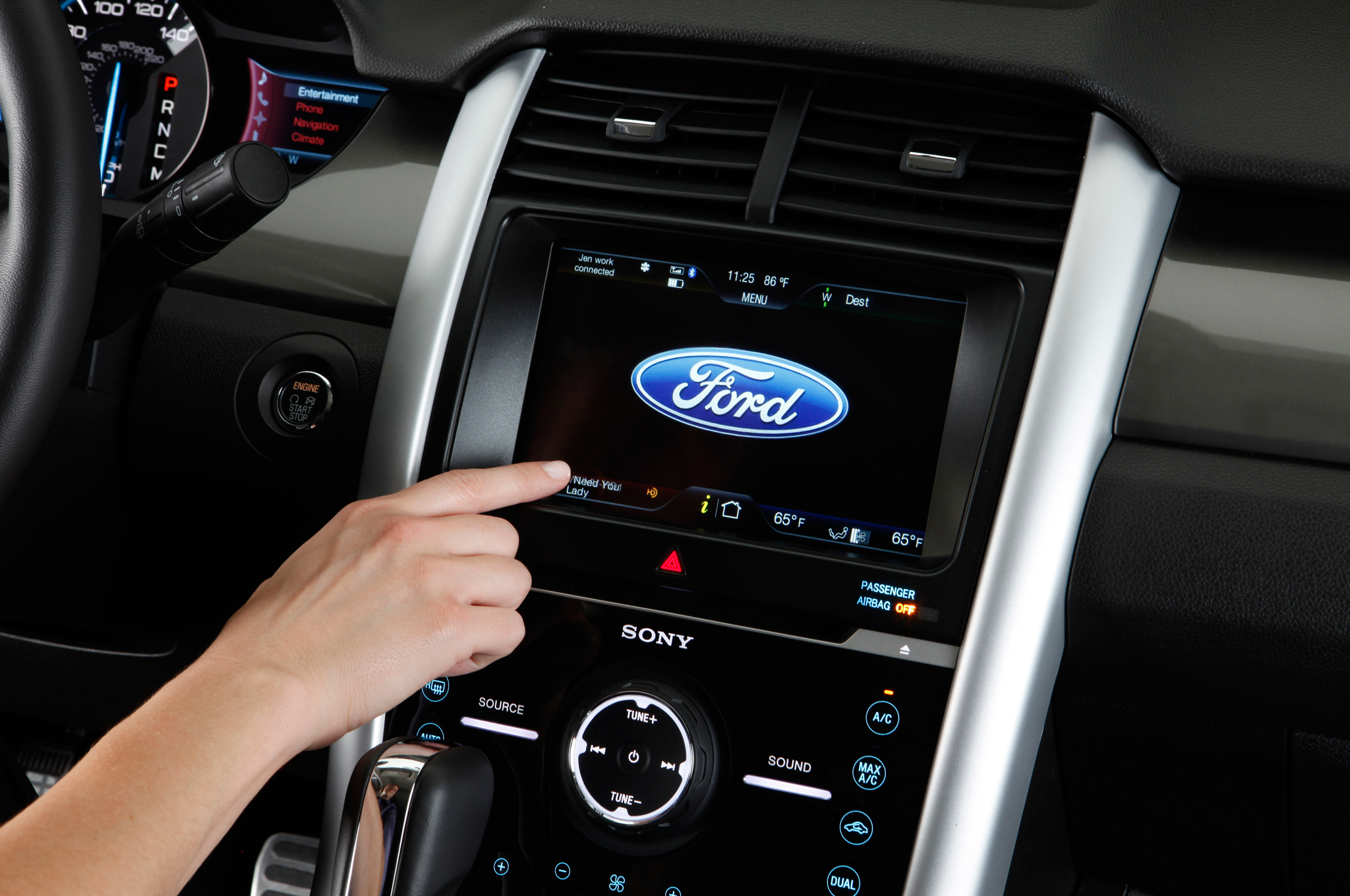 2011 ford edge myford touch