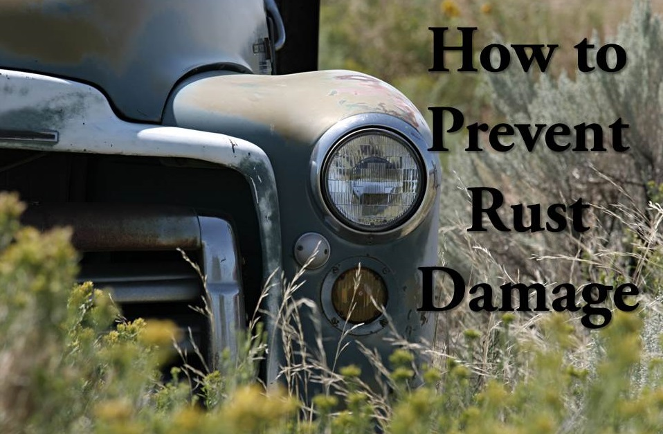 How to Prevent Rust Damage