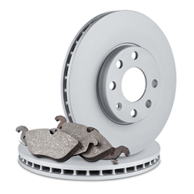 Brake rotors and brake pads