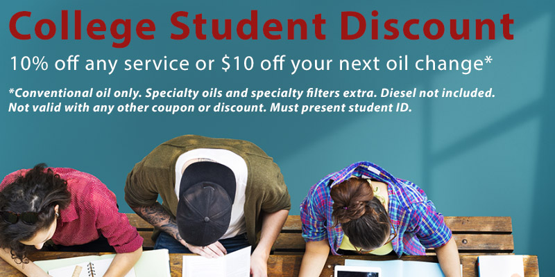 College Student Discount